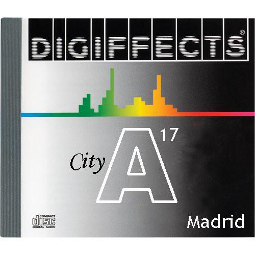 Sound Ideas Sample CD: Digiffects City SFX - Madrid SS-DIGI-A-17