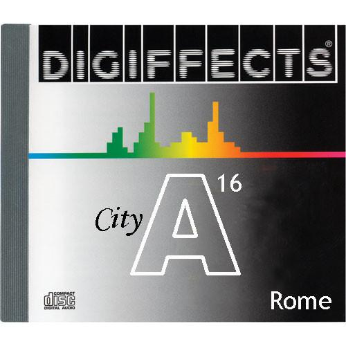 Sound Ideas Sample CD: Digiffects City SFX - Rome SS-DIGI-A-16