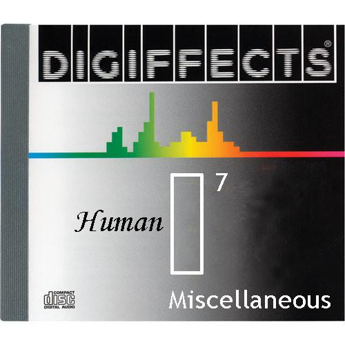 Sound Ideas Sample CD: Digiffects Human SFX - SS-DIGI-I-07