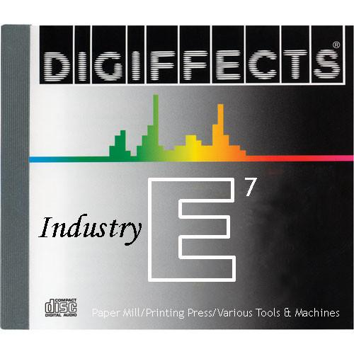 Sound Ideas Sample CD: Digiffects Industry SFX - SS-DIGI-E-07