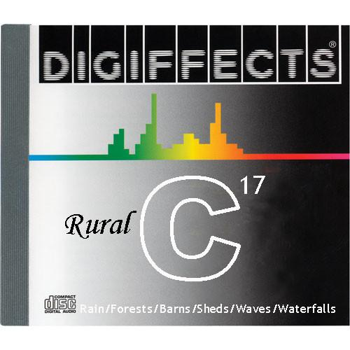 Sound Ideas Sample CD: Digiffects Rural SFX - Rain, SS-DIGI-C-17