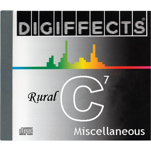 Sound Ideas Sample CD: Digiffects Rural SFX - SS-DIGI-C-07