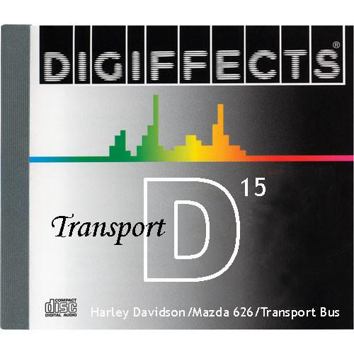 Sound Ideas Sample CD: Digiffects Transport SFX - SS-DIGI-D-15