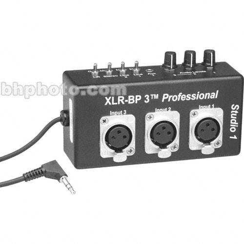 Studio 1 Productions XLR-BP3 Pro - Belt Clip XLR Adapter XLRBP3P