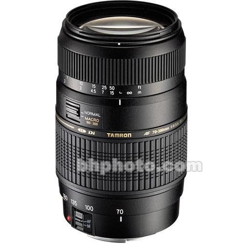 Tamron 70-300mm f/4-5.6 Di LD Macro Lens for Canon EOS