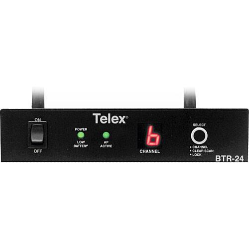 Telex BTR-24 - 2.4GHz Multi-Channel Wireless Base F.01U.120.575