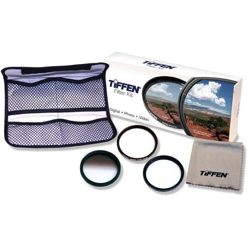 Tiffen 62mm Digital Pro SLR Glass Filter Kit 62DPSLRKIT