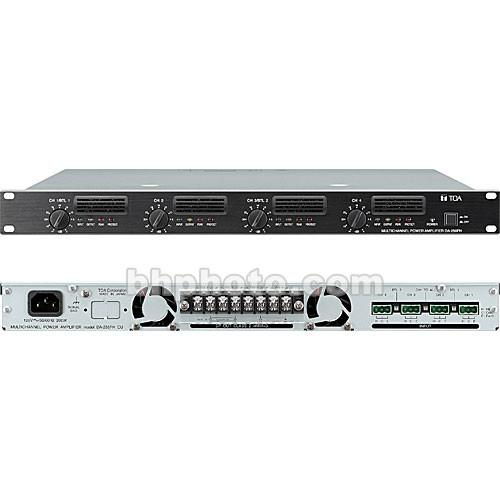 Toa Electronics DA-250FH Four-Channel Digital DA-250FH CU