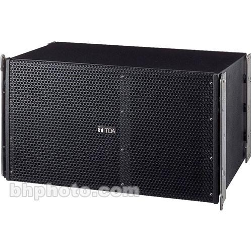 Toa Electronics SRA12L Mid-Sized Line Array Speakers SR-A12LWP