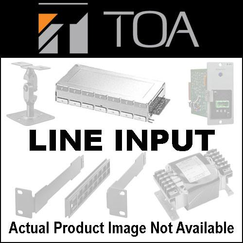 Toa Electronics U-43S - Unbalanced Line Input w/ High/Low U-43S