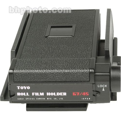 Toyo-View  Roll Film Holder 180-725