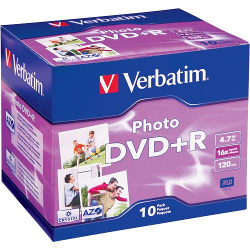 Verbatim DVD R Recordable Photo Disc in Jewel Case 95523
