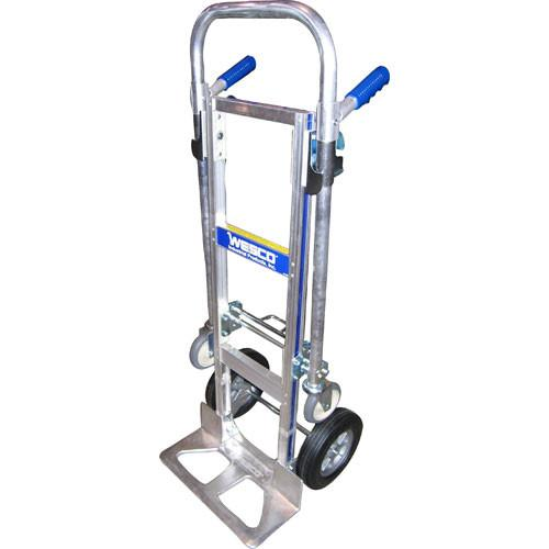 Wesco Cobra Jr. Hand Truck - Poly Offset Hub, Solid 220297