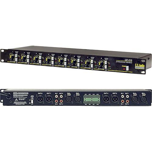 Whirlwind LD410 Audio Line Driver & Level Matcher LD410