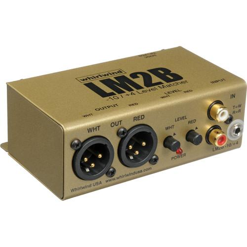 Whirlwind LM2B 2-Channel Line Level Converter LM2B