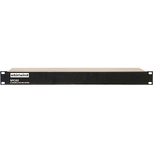 Whirlwind SPC82 - 8-Channel Mic Splitter with Direct and SPC82