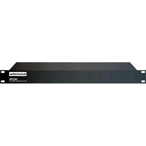 Whirlwind SPC83 - 8-Channel Mic Splitter with Direct and SPC83