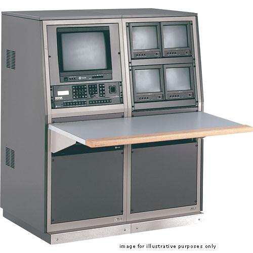 Winsted 2-Bay Security Console with TruForm Work Surface, J8555