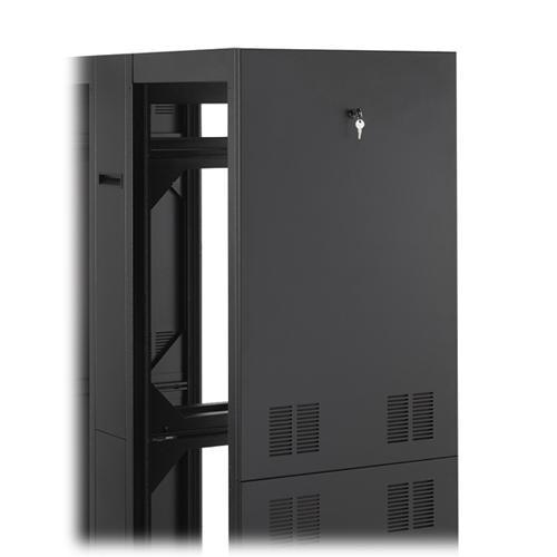 Winsted Pair of Locking Side Panels, No Vents (Black) 90168
