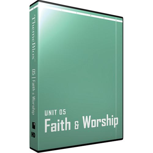 12 Inch Design ThemeBlox HD Unit 05 - Faith and Worship 05THM-HD
