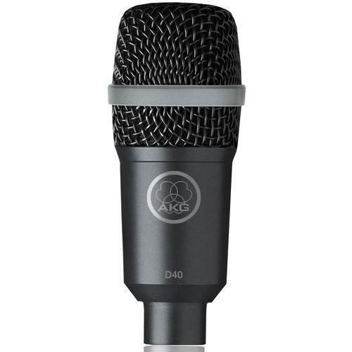 AKG D40 Cardioid Instrument Microphone 2815X00050