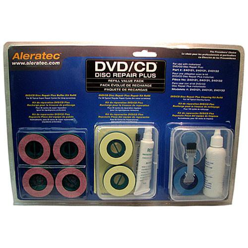 Aleratec DVD/CD Disc Repair Plus Value Pack 240138