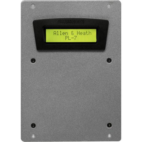 Allen & Heath PL-7 2x16 LCD Panel for iDR4/8 AH-PL-7