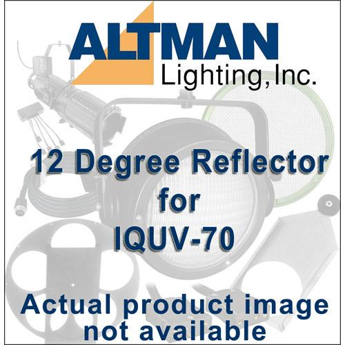 Altman Reflector for IQUV-70 Blacklight - 12 Degrees IQ38-12R