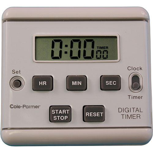 AmpliVox Sound Systems S1321 Clip-On Clock Timer S1321
