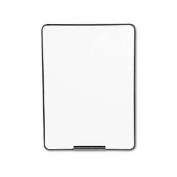 Apollo Oval Dry Erase Board, Metallic Bronze Finish Steel 21E-7