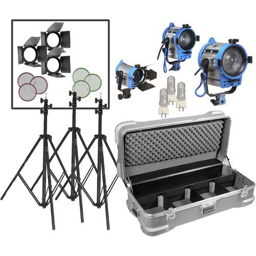 Arri  Compact Fresnel Three-Light Kit LK.0005643