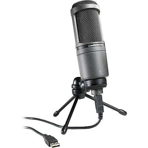 Audio-Technica AT2020USB - Condenser Microphone with USB