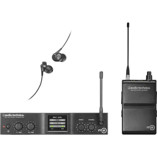 Audio-Technica M2 Wireless In-Ear Monitoring System M2L, Audio-Technica, M2, Wireless, In-Ear, Monitoring, System, M2L,