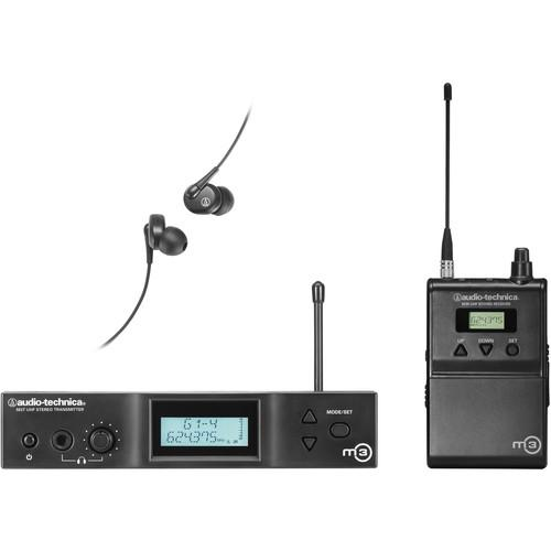 Audio-Technica M3 Wireless In-Ear Monitoring System M3M