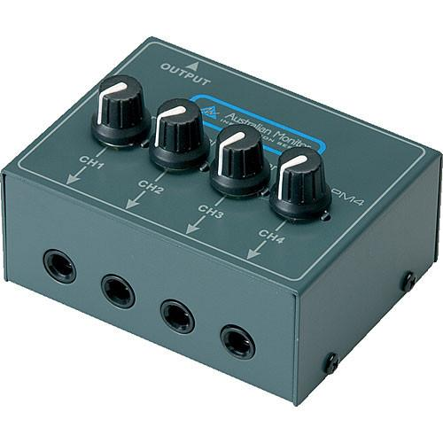 Australian Monitor Mixed Up - Four Channel Passive Mixer PM4