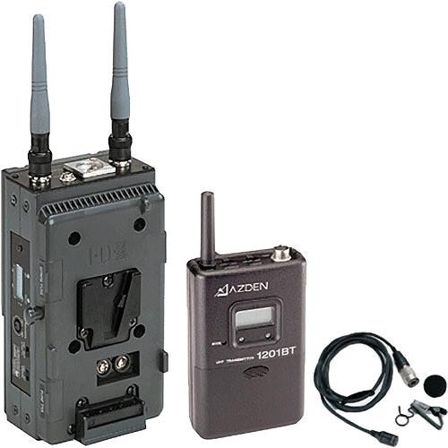 Azden 1201 Series - Slot-In Portable Wireless Lavalier 1201VMS