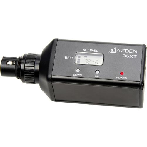 Azden 35XT Single Channel Plug-In Transmitter 35XT