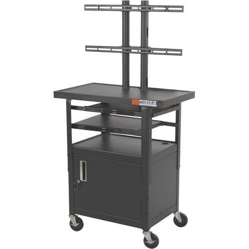Balt Model 27530, Height Adjustable Flat Panel TV Cart 27530M