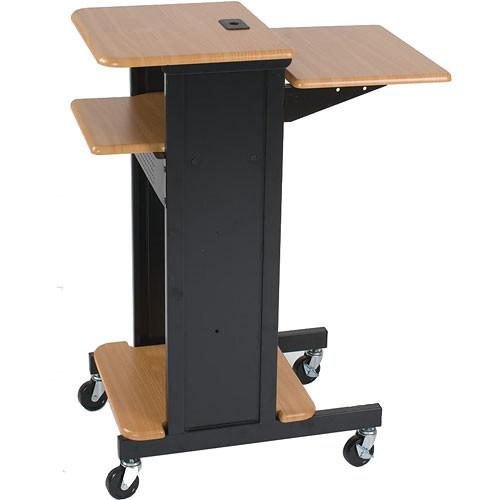 Balt  Presentation Cart (Teak/Black) 27519