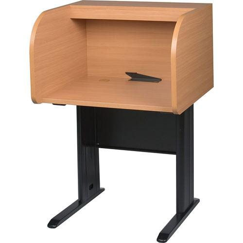 Balt  Privacy Study Carrel (Teak) 89845E