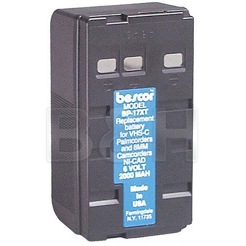 Bescor BP-17XT Ni-Cad Battery Pack - 6v, 2000mAh BP17XT