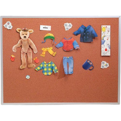 Best Rite 300AB Splash-Cork Tackboard (Blue) 300ABBL