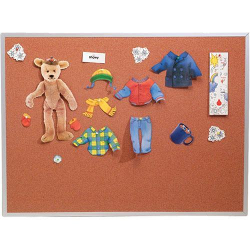 Best Rite 300AF Splash-Cork Tackboard (Blue) 300AFBL