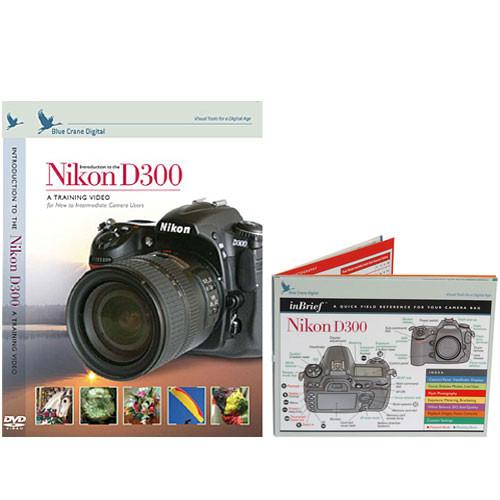 Blue Crane Digital DVD and Guide: Combo Pack for the Nikon BC615