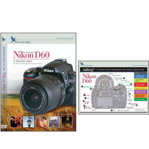 Blue Crane Digital DVD and Guide: Combo Pack for the Nikon BC617
