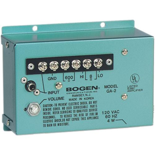 Bogen Communications GA2 1.5W Utility Amplifier GA2