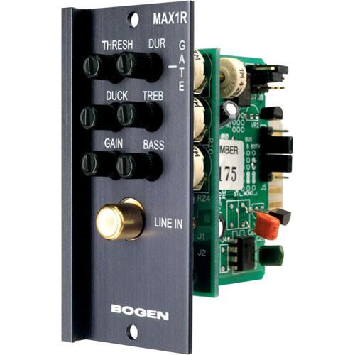 Bogen Communications MAX1R Unbalanced Mono Input Module RCA