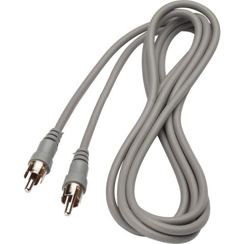 Bogen Communications RCA Male to RCA Male Audio Cable - 6' MRCA6