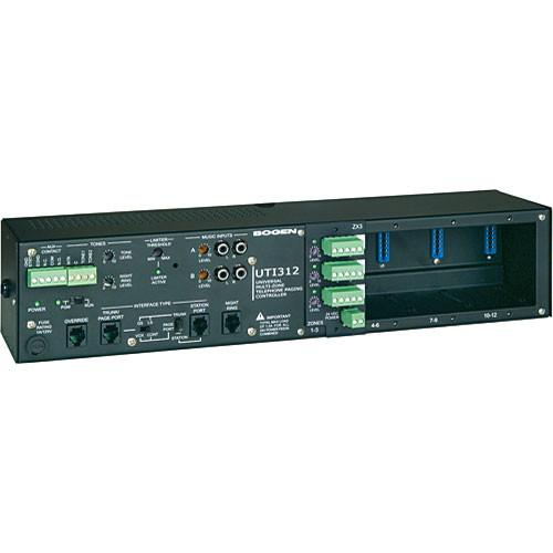 Bogen Communications UTI312 Multi-Zone Paging Controller UTI312
