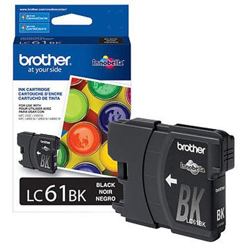 Brother LC61BK Innobella Standard-Yield Black Ink LC61BK